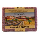 Jabón de Marsella lavanda machacada 250gr le Sérail